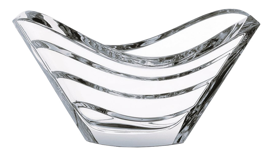 Baccarat Wave Decorative Bowl, Price upon request This exquisite crystal bowl looks like a cresting wave that makes your summer table a beautiful point of interest. At Atkinson's, (604) 736-3378 atkinsonsofvancouver.com