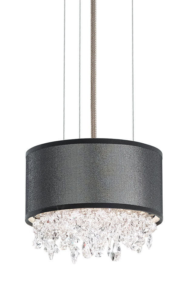 Schonbek Eclyptix EC1306 Chandeliers, Price upon request  Icy crystals seem to tumble from the sky into this statement chandelier. Place over a modern table for maximum impact. At The Lighting Warehouse, (604) 270-3339 thelightingwarehouse.com