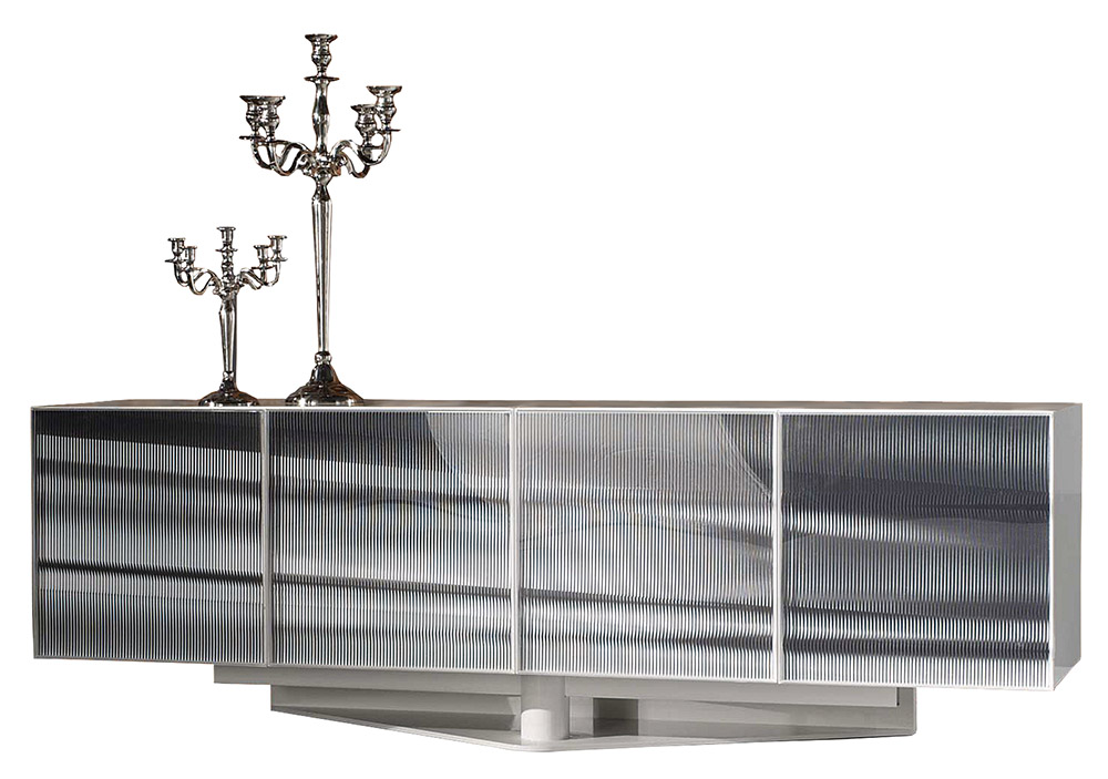 Roche Bobois OPTO Sideboard, $9,865 Storage is necessary, and here's a pretty way to do it. Hide your dishware in a metal sideboard that resembles a windswept sky. At Roche Bobois, (604) 633-5005 roche-bobois.com