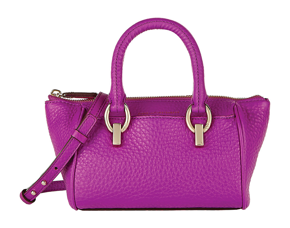 DVF Sutra Leather Mini Duffle Bag    $265