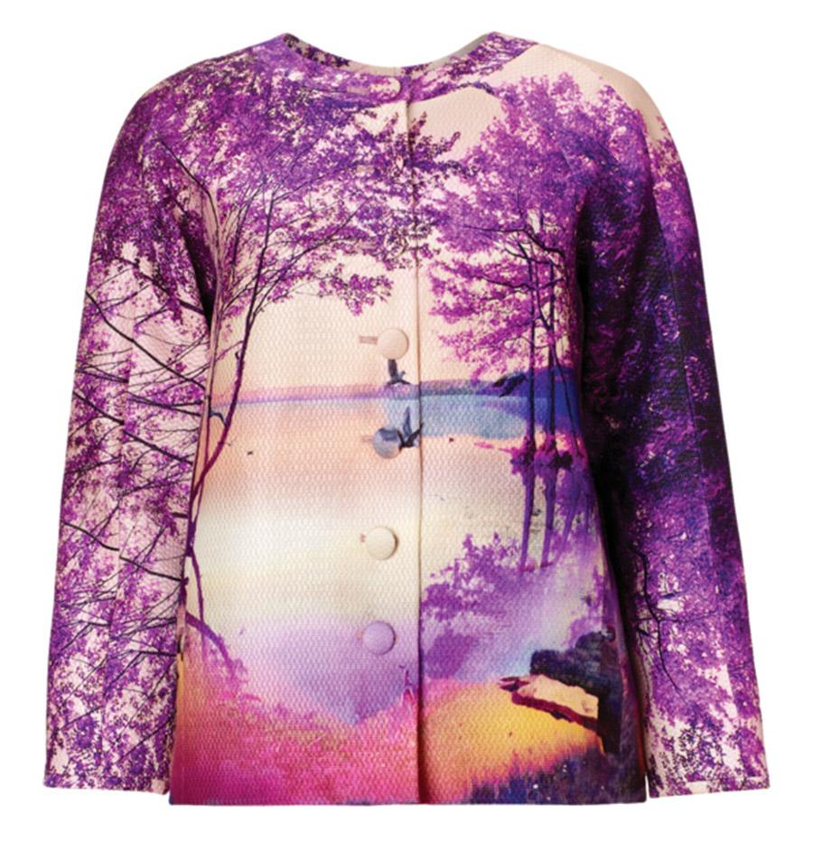 Mary Katrantzou Blush Jacket Terraflora   $4,150