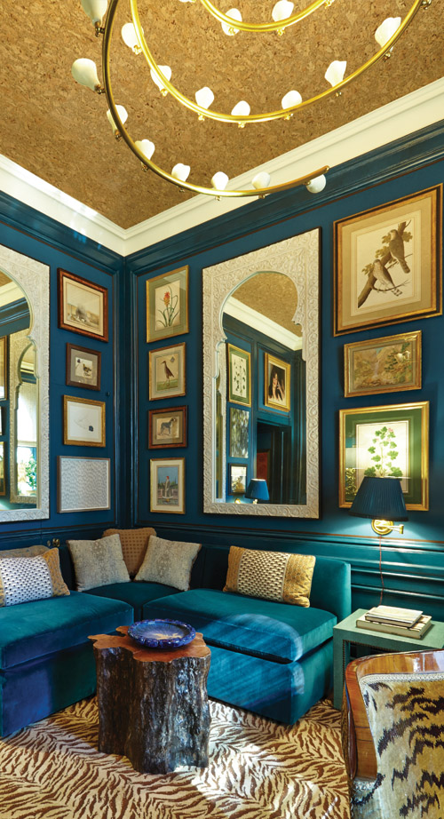 Designer Marham Roberts, Photographer Timothy Bell From Forty Years of Fabulous: The Kips Bay Decorator Show House, by Steven Stolman