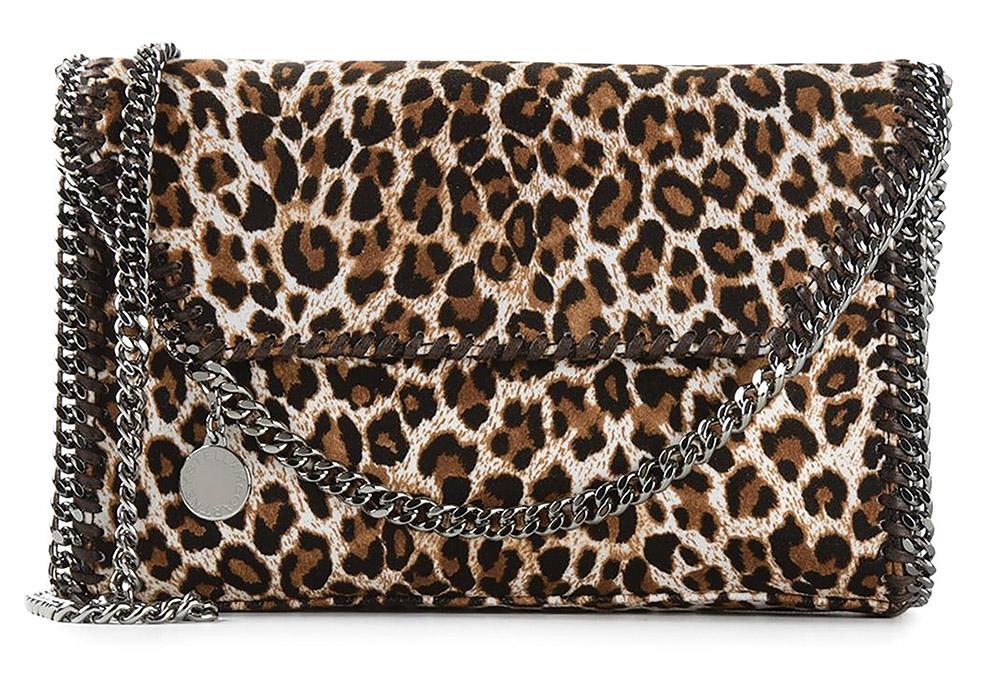 Stella McCartney Falabella Leopard Shoulder BagUS$960