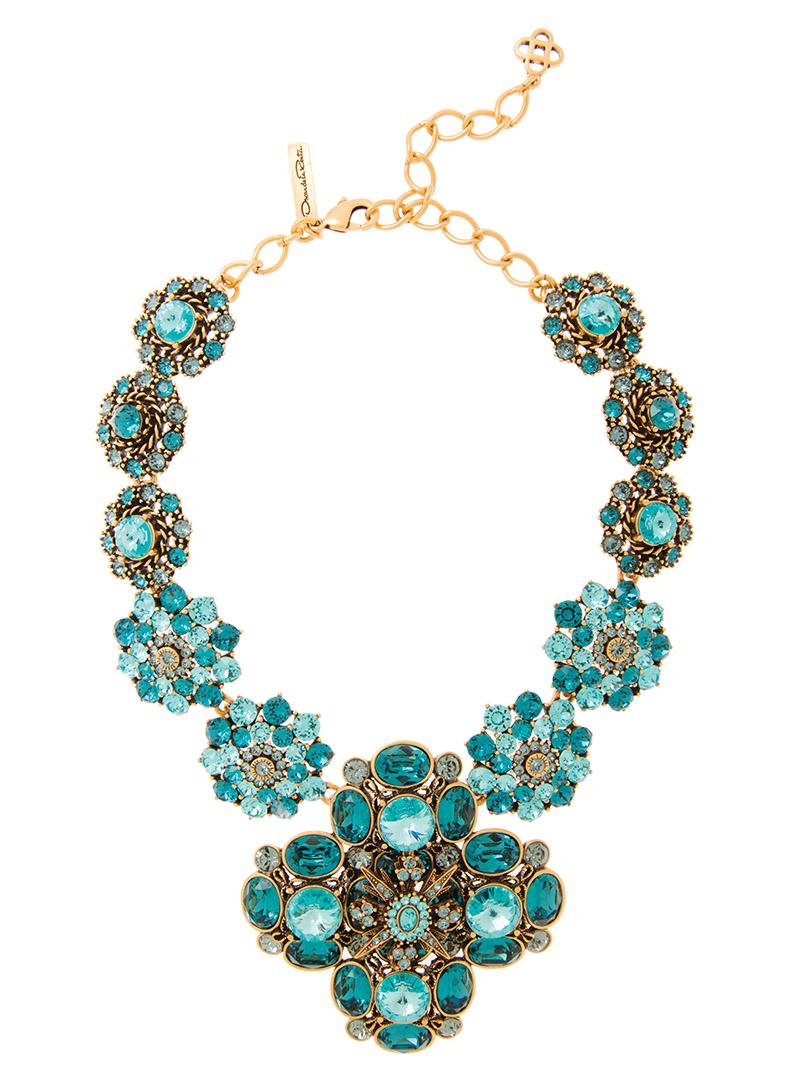 Oscar De La Renta Classic Jewel Necklace$1,495