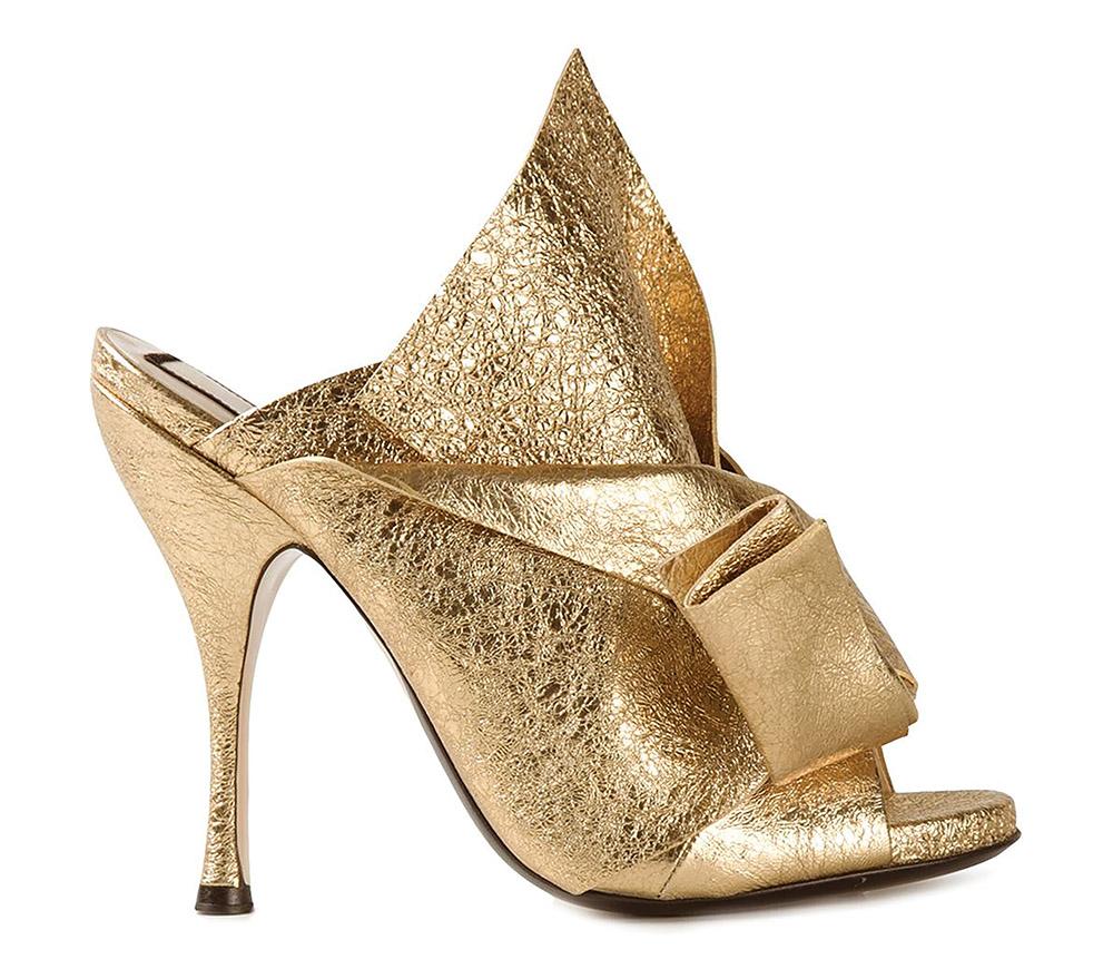 Nº21 Metallic Stiletto Sandals   $846