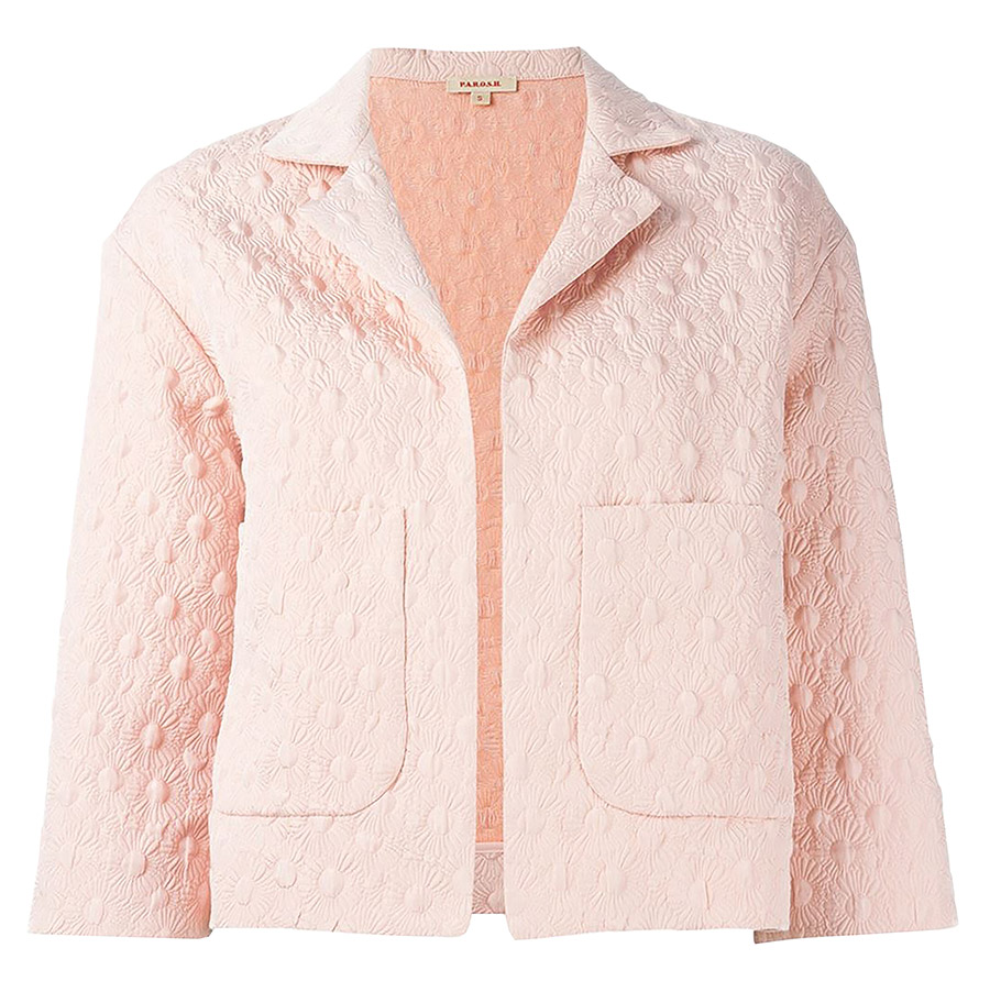 P.A.R.O.S.H. Cropped Flower Jacket    $578