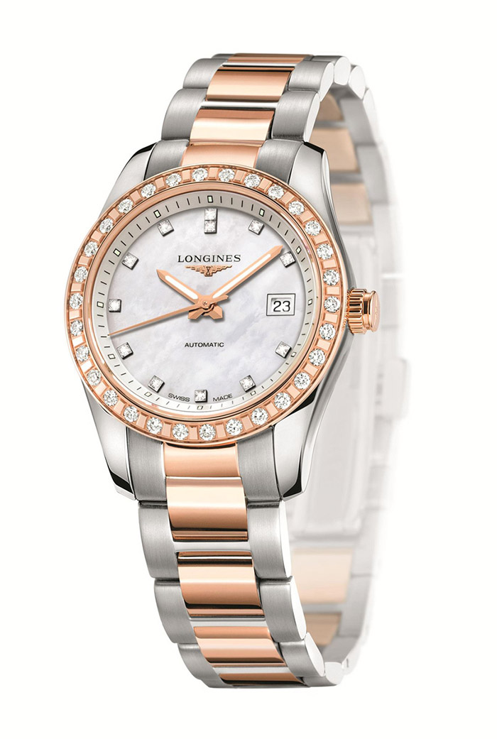 LONGINES  Conquest Classic Diamond Watch  $6,800