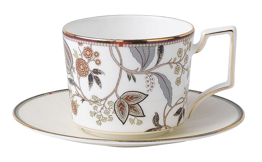 Wedgwood Pashmina Tea Cup & Saucer