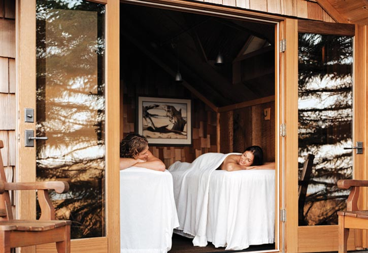 Don't miss Ancient Cedars Spa.