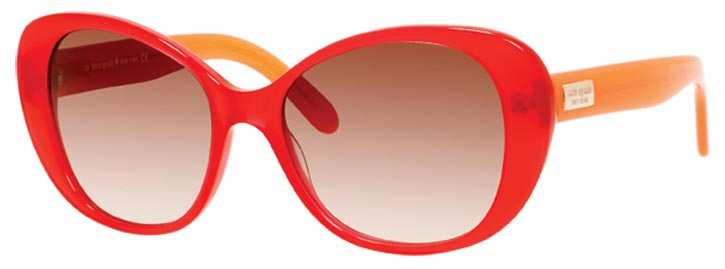 Kate Spade colourblock sunglasses   $160   At eyecare specialists across Canada