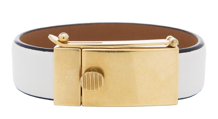 Céline white bracelet $500  At Holt Renfrew