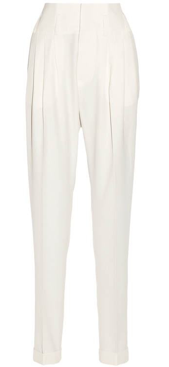 Balmain wool tapered pants   $2,030   At net-a-porter.com