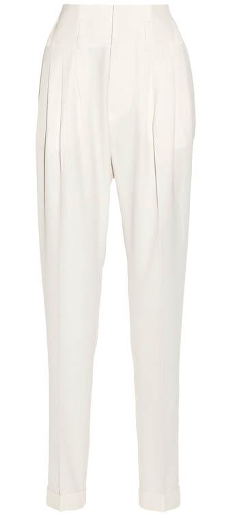 Balmain wool tapered pants$2,030 At net-a-porter.com