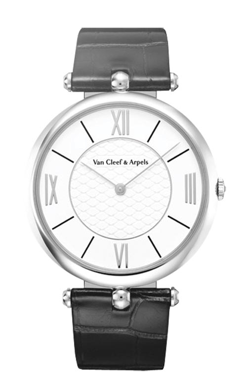"""Pierre Arpels"" 42mm timepiece by Van Cleef & Arpels   $19,000    At Birks"