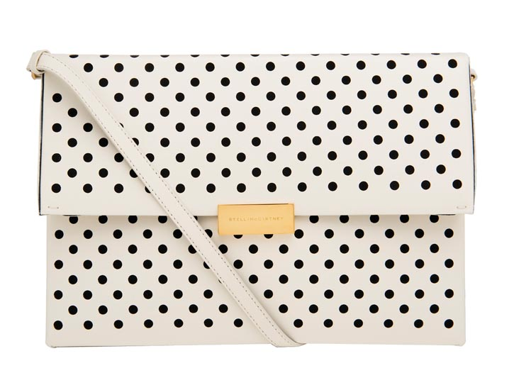 Stella McCartney polka dot bag  $1,295  At Holt Renfrew