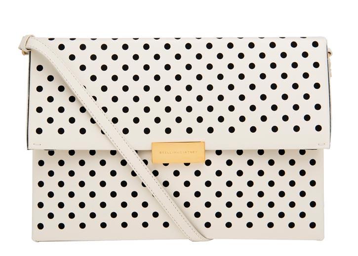 Stella McCartney polka dot bag $1,295 At Holt Renfrew