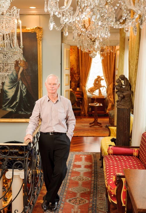 William MacKinnon, owner of Three Centuries Antiques in Vancouver
