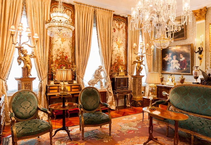 Rooms brimming with classical European treasures are in rare form on the West Coast.