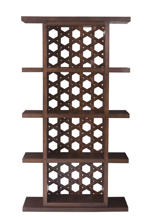 Bernhardt Bali Etagere, $1,999 A simple quartered etagere, its back panel featuring a hexagonal lattice pattern, exudes a unique air of transparency and mysteriousness. At Paramount Furniture, 604 273 0155 paramountfurniture.ca