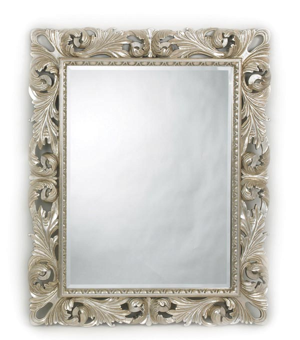 Somerset Mirror, $499 A resplendent Mediterranean mirror is reminiscent of a clear, bubbling spring. The frame features hand-painted silver finish, for an even lovelier sheen. Can be hung horizontally or vertically. At Decorium, 800 232 2267 www.decorium.co