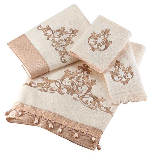 Avanti Monaco Bath Towels in Ivory At Bed Bath & Beyond,bedbathandbeyond.ca, 604 904 1118