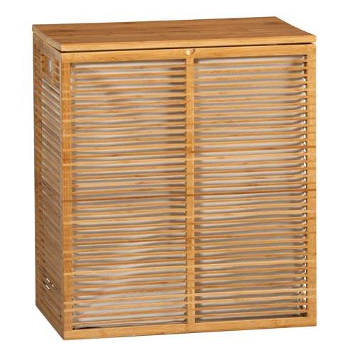 Bamboo Hamper with Liner At Crate & Barrel, crateandbarrel.com, 604 269 4300