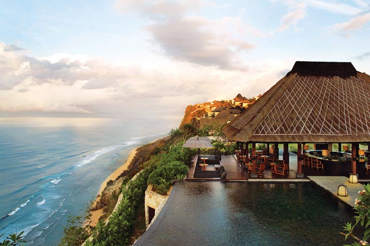 Bulgari resort in Uluwatu.