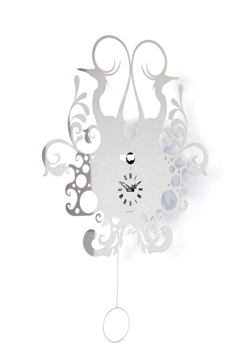 Mint Cuckoo Wall Clock, $769 The Italian cuckoo clock is graphically interpreted in two dimensions, but the shadow on the wall honours the past. Classic fun endowed with a new sense of the times. at Mint Interiors, 604 568 3430 shop.mintinteriors.ca