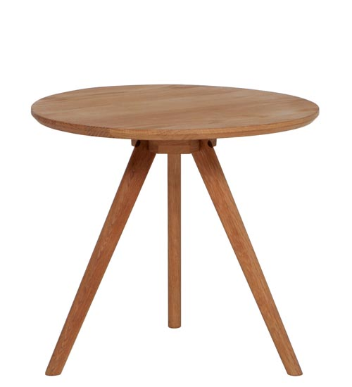 EQ3 Tate End Table, $99 A solid oak end table finished naturally. Tripod-like minimalist design and traditional mortise and tenon joint structure. Wherever it is, it adds artistic, unadorned style. at EQ3, 604 681 5155 www.eq3.com