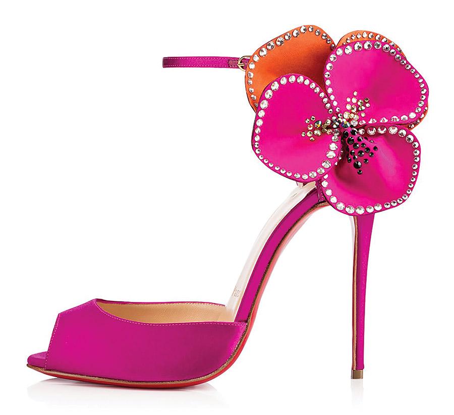 Louboutin Pensamoi Sandals floral
