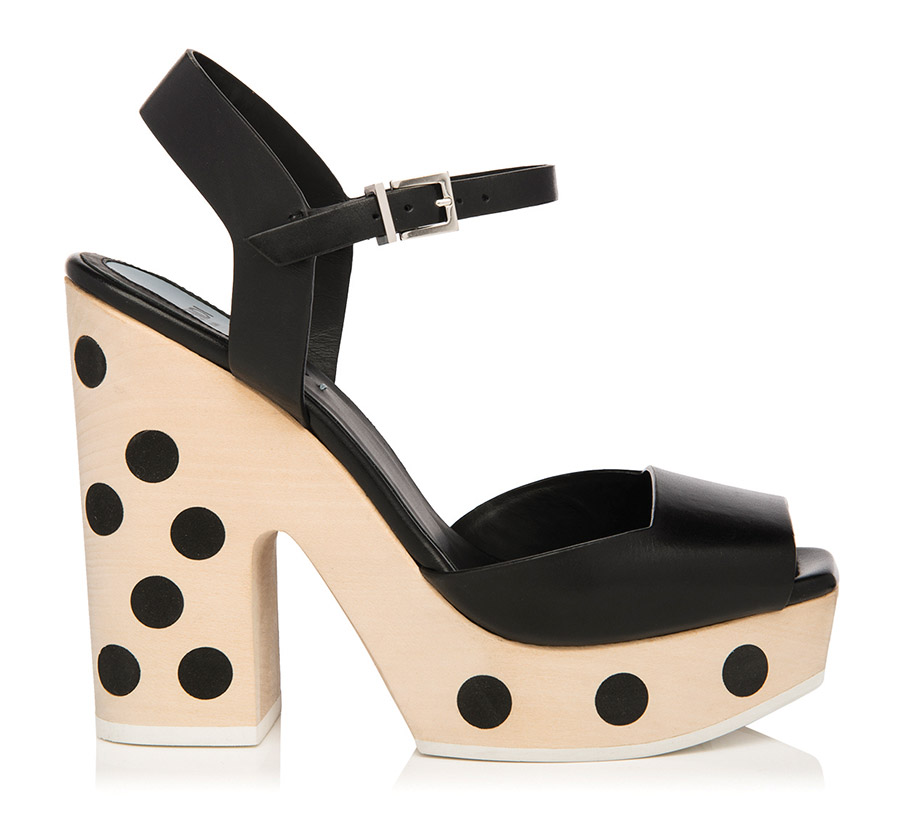 FENDI Dotted Platform Sandal