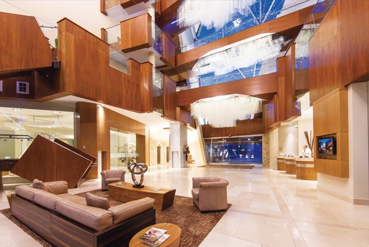 3.5 million Swarovski crystals adorn Sparkling Hill Resort