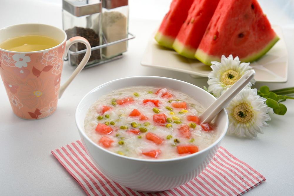 Mung Bean Watermelon Porridge
