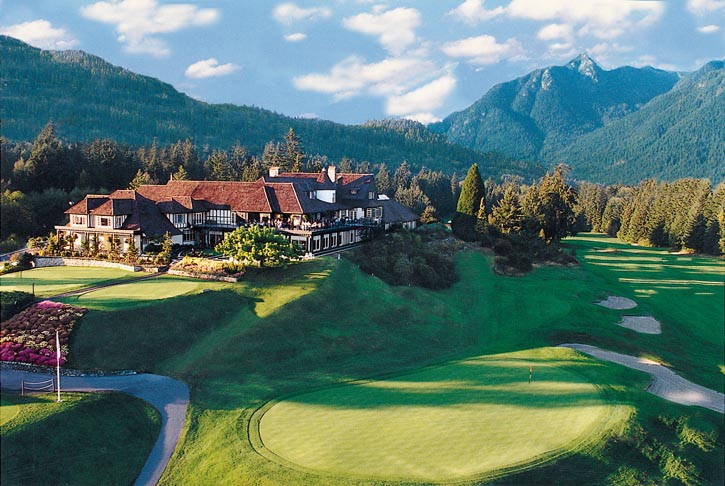 Capilano Golf and Country Club, established in the British Properties in 1936.