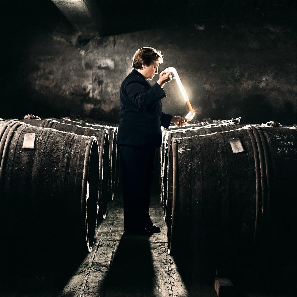 Legendary Remy Martin distiller Ms. Pierrette Trichet is responsible for thousands of cognac varieties