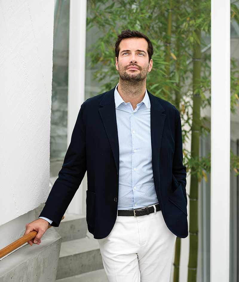 Antoine Roset leads the Ligne Roset brand in North and South America. His great-great grandfather founded the furniture company in 1860's France.