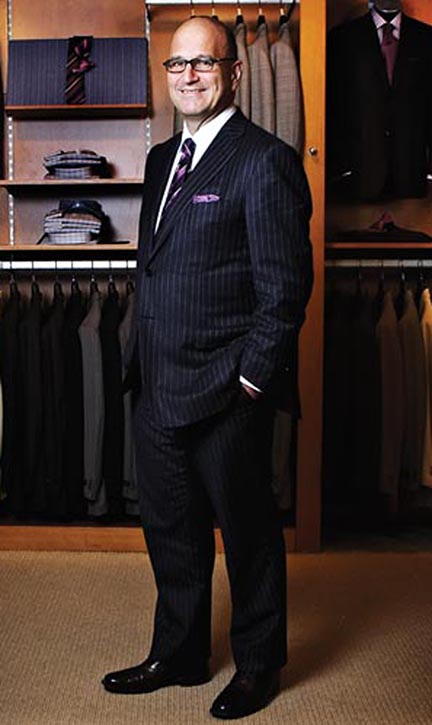 Larry Rosen, Chairman and CEO of Harry Rosen menswear stores