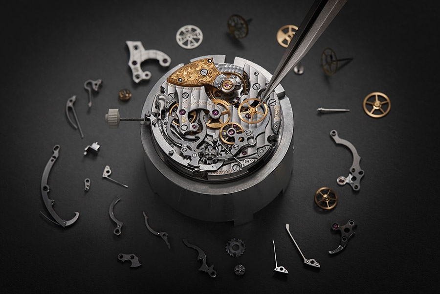 A timepiece at Vacheron Constantin workshop, Geneva.( Vacheron Constantin)