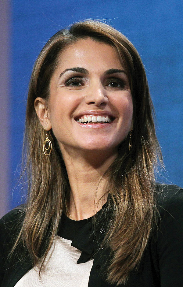 Queen Rania of Jordan (Mario Tama / GettyImages)
