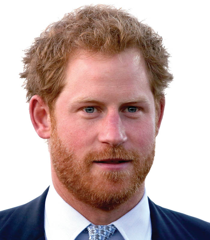 Prince Harry: Chris Jackson / GettyImages