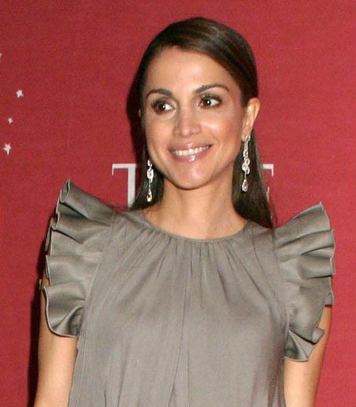 Queen Rania Al-Abdullah: Everett Collection / Shutterstock.com