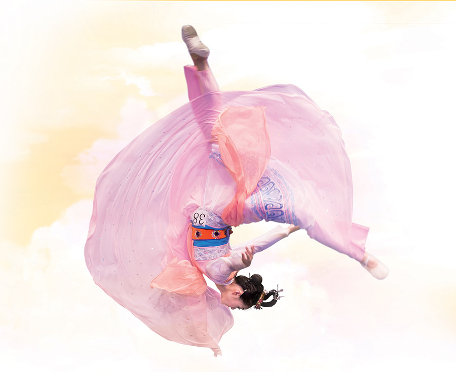 Eden Zhu performs her gold award-winning dance in the 2014 NTD International Classical Chinese Dance Competition.