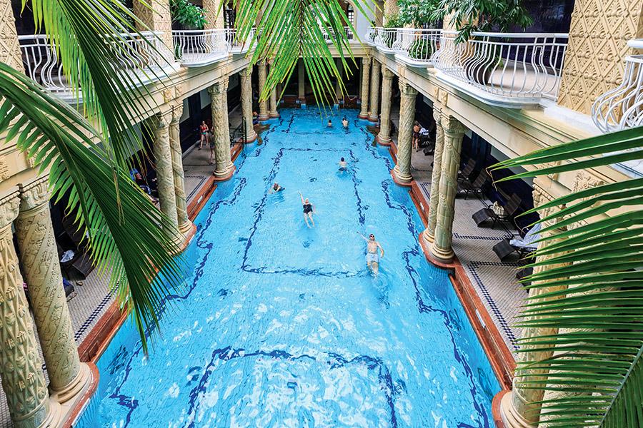 Bathe like the ancient Romans did amidst Gellert Baths' Art Nouveau elegance. (Sorin Colac / Shutterstock.com)