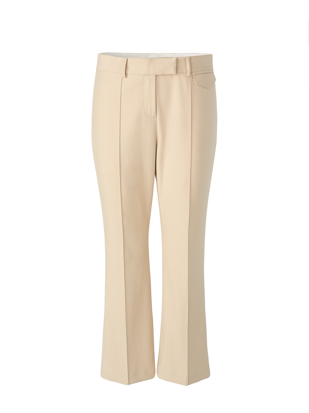 Twill Ankle Flare Pant
