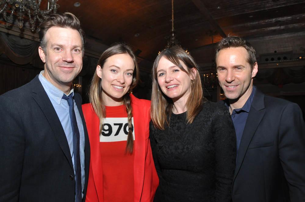 Will Forte, Olivia Wilde, Emily Mortimer, Alessandro Nivola. (Image: Shevett Studios)