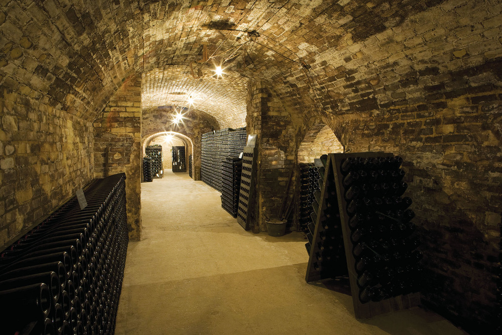 Champagne Winery‭, ‬Epernay‭, ‬France. PHB.cz (Richard Semik) / Shutterstock.com