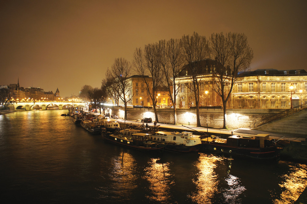 The River Seine.