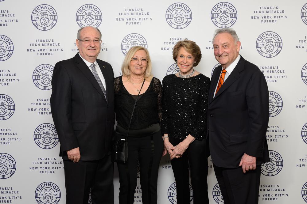Peretz Lavie, Lena Lavie, Joan Weill, Sanford Weill (Photo:Andrew Kist, Filip Wolak)