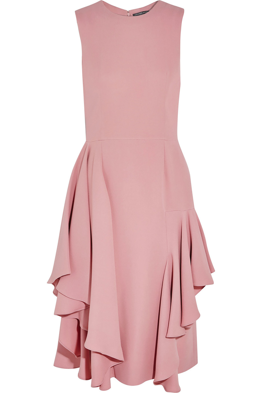 Alexander McQueen Ruffled Silk Dress $3,419