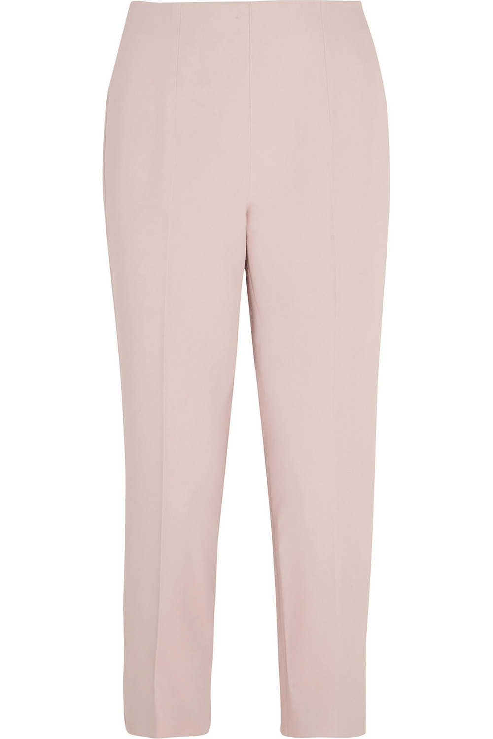 Alexander McQueen Cropped Stretch-Crepe Tapered Pants US$1,034